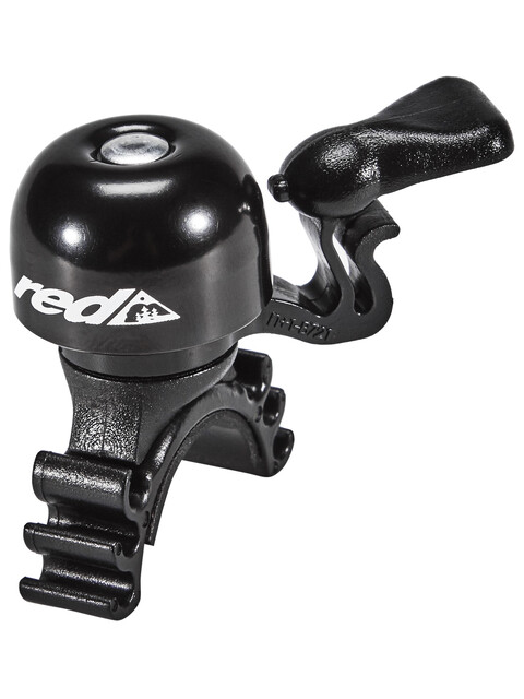 Red Cycling Products Mini Bell Easy Fix schwarz